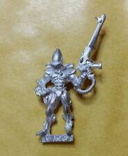 Warhammer 40k Eldar Heavy Weapon Redondo Metal-sin pintar