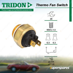 Tridon Thermo Fan Switch for Land Rover Defender Discovery 110 Country