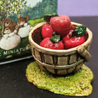 Wee Forest Folk A-30 Apple Basket - Retired Brand New with Box!