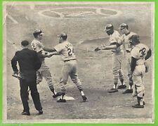 1964 Original Press Pass Photo of 1964 World Series - Yankees vs. St. Louis!
