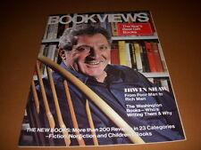 Bookviews Magazine, December, 1977, Irwin Shaw Cover, Rich Man, Poor Man!