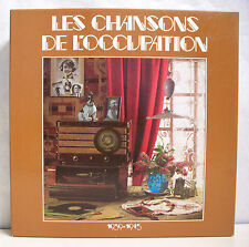 "10 x 33T Coffret LES CHANSONS DE L'OCCUPATION Vinyles LP 12"" LIBERATION DE PARIS"