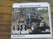 2008 Arctic Cat DVX 90 AND 90 UTILITY ATV Service Manual (P/N 2258-057)