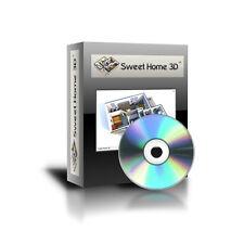 Sweet Home 3D House Interior Designer Program for Windows 98, XP, Vista,7,8 CD
