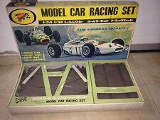 NICHIMO MODEL CAR RACING SET SLOT CARS 1/24 -1/32 VER FOTO