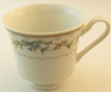 Bellegarden By Citation Footed Tea Cup White Pink Lavender Green Floral