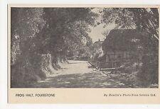 Kent, Folkestone, Frog Halt Postcard, A743