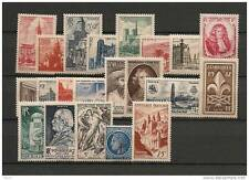 ANNEE COMPLETE NEUVE XX 1947 TIMBRES LUXE