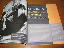1976-2017 Poet & Teacher Mary Karr Poetical Works, Interviews, Essays 37 Items