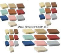 Lot of 100 Embossed Fibre Mixed Color Cotton Filled Jewelry Packaging Gift Boxes