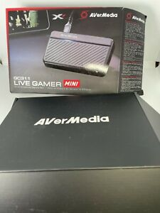 AVerMedia Live Gamer Mini Capture card 1080p 60 Video streaming and Recording