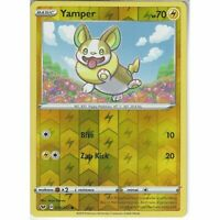 074/202 Yamper | Common Reverse Holo Card Pokemon TCG Sword & Shield (Base Set)