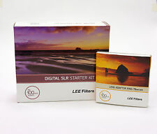 Lee Filters 100 DSLR Kit+Lee 72mm Wide Adapter Ring.Brand New