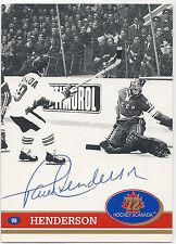 Paul Henderson Signed 1991 Future Trends Summit Series #98 Canada Winning Goal