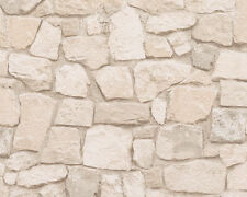 as Creation Sand Stone Wall Pattern Rustic Brick Textured Wallpaper 692429