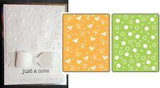 Sizzix Embossing Folders BUTTERFLIES & FLOWERS SET Folder set  657597 insects