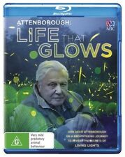 LIFE THAT GLOWS (David Attenborough)  -  Blu Ray - Sealed Region B