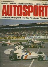 Autosport April 11th 1974 *Silverstone F1 Int Trophy*