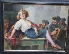 Geiger Richard *1870 Wien Budapest Paris Sexi Blondine verführerische Schönheit