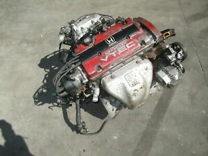 Jdm Honda prelude H22A Engine * Mechanic Special * Burns Oil, For Parts H22A4