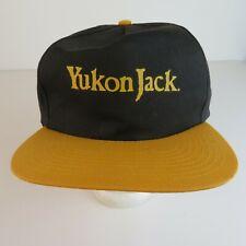Vintage Snapback Hat Cap - Yukon Jack - Whisky Liqueur - New Old Stock
