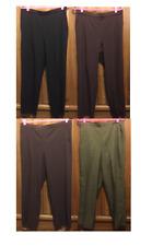 BRIGGS NEW YORK WOMANS SIZE 14 (LG) PULL ON PANTS DRESS SLACKS  BLACK BROWN GRAY