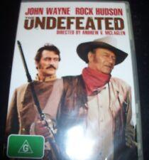 Undefeated (John Wayne Rock Hudson) (Australia Region 4) DVD - NEW