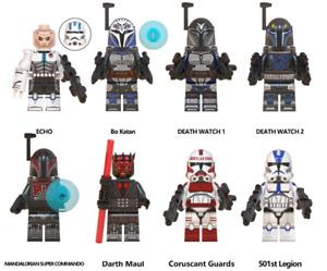 8er Star Wars Echo Bokatan Commander Cody Clone Trooper Kinder Minifigures Block