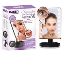 Bauer Superstar Super luminosi LED ingrandimento specchio con controllo touch sensor