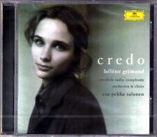 Helene GRIMAUD CREDO Beethoven Arvo Pärt Corigliano SALONEN CD Tempest Fantasia