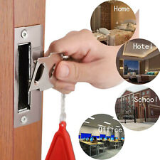 Anti-theft Portable Door Lock Safety Security Tool for Home Privacy Travel Hotel