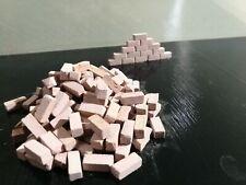 1000 pz mattoncini scala 1:50 presepi mattoni diorama modellismo terre rare new
