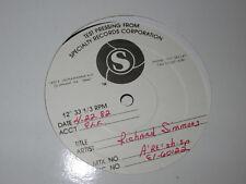 TEST PRESS RICHARD SIMMONS REACH ALBUM LP