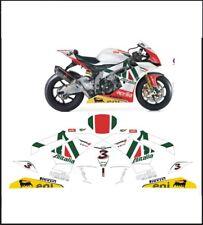 kit adesivi stickers compatibili rsv4 alitalia sbk pista
