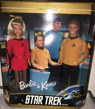BARBIE & KEN STAR TREK 30TH ANNIVERSARY COLLECTOR EDITION NEW IN BOX