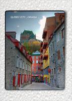 """SOUVENIR FROM QUEBEC CITY , CANADA FRIDGE MAGNET 3"""" x 4""""-hjy6Z"""