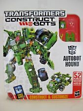 AUTOBOT HOUND Transformers Construct Bots Elite Class E1:03 52 Pieces Hasbro New