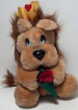 1988 Applause Stuffed Valentine's Lion Heart doll