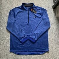 Under Armour 1/2 Zip Mens Pullover Shirt Jacket Fleece Sweater Size XL $55