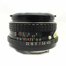 Pentax K Manual Focus Camera Lenses 28mm Focal