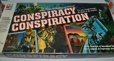 CONSPIRACY Milton Bradley BOARD GAME 1983 complete