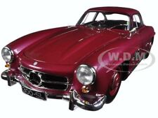 1954 MERCEDES 300 SL GULLWING W198 I RED LTD 336PCS 1/18 BY MINICHAMPS 180039008