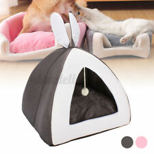 S/M/L Foldable Warm Pet Puppy House Dog Cat Bed Cave Sleeping Mat Nest Bed