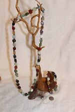 Vintage necklace set Gemstone cubes Publishers Clearing house
