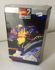 WOLVERINE  MARVEL MODEL KITS NUOVO da montare e colorare TOY BIZ