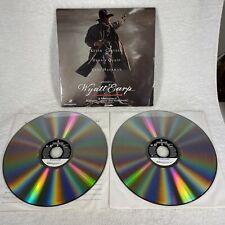 """Warner Home Video laserdisc -""""Wyatt Earp"""" - Costner, Quaid, Hackman"""