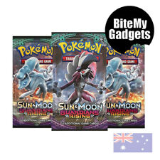 20 x 10 Card Booster Pack - Pokemon Sun & Moon Guardians Rising Trading Card NEW