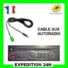 Câble adaptateur auxiliaire mp3 poste RENAULT UDAPTE LIST clio scenic twingo TOP