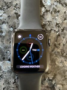 Apple Watch Series 3 42mm Space Grey Aluminium Excellent Condition With box.