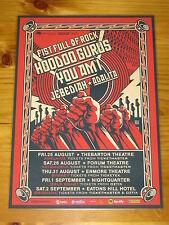 FIST FULL OF ROCK - YOU AM I - 2017 Australia Tour - Laminated Poster